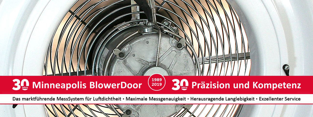 30 Jahre Minneapolis BlowerDoor
